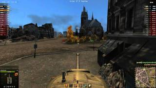 World of Tanks Ruinberg - T30 & T34 platoon 12 kills