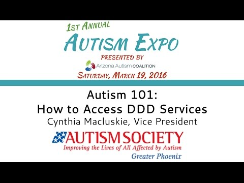 Autism 101: How To Access DDD Services | 2016 Autism Expo