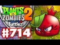 Battlez! Bombegranate! - Plants Vs. Zombies 2 - Gameplay Walkthrough Part 714