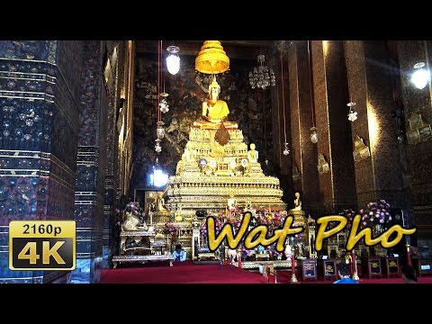 Wat Pho, Bangkok - Thailand 4K Travel Channel