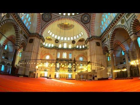 Süleymaniye Mosque - Walking Tour | Istanbul 🇹🇷 [4K]