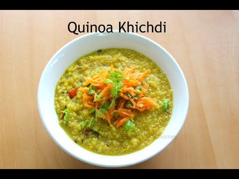 Quinoa Khichdi Recipe How To Make Quinoa Moong Dal Khichdi | Nisa Homey