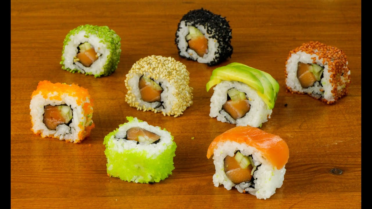 Sushi Dinner Party Ideas Part - 18: How To Cook A Sushi Dinner Party - YouTube