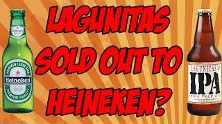 Gambar cover Lagunitas Sold Out To Heineken? | Beer Geek Nation Beer Video Beer Review