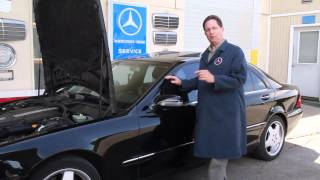 Buying a 10 to 15 Year Old Mercedes Benz Part 10: Initial Detailing, Service and Maintenance