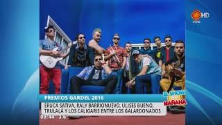 Premios Carlos Gardel 2016 08 06 2016