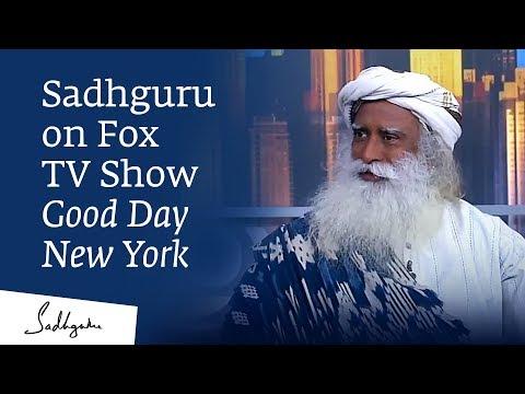 Sadhguru on Fox TV Show Good Day New York