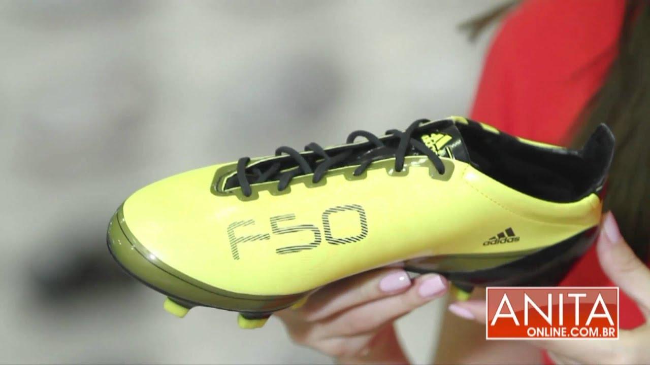 Anita Online - Chuteira Adidas F50 Adizero TRX FG - YouTube 032315871a61a