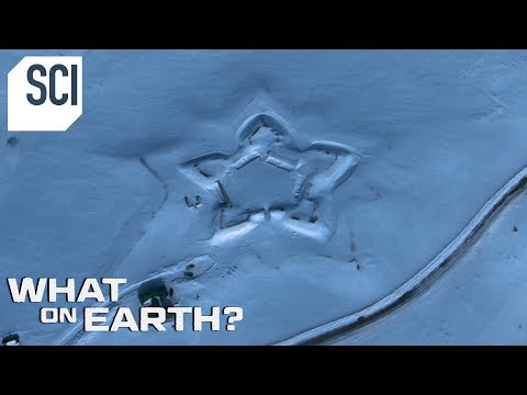 Whats Behind this Giant Star in the Snow? | What On Earth?