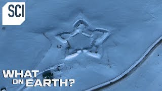 What's Behind this Giant Star in the Snow? | What On Earth?