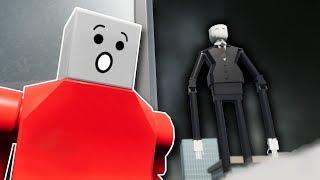 LEGO SLENDER MAN SURVIVAL! - Brick Rigs Multiplayer Gameplay - Lego Slenderman