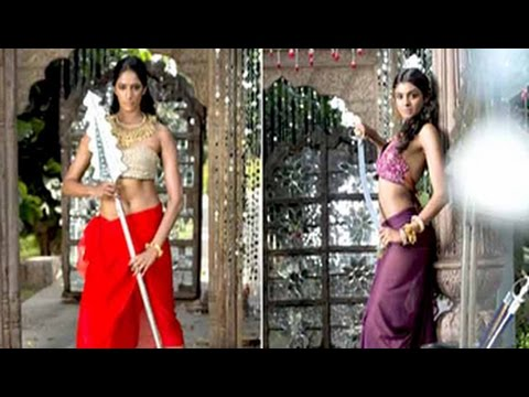 Kingfisher Supermodels Assume The Role Of A Warrior Princess