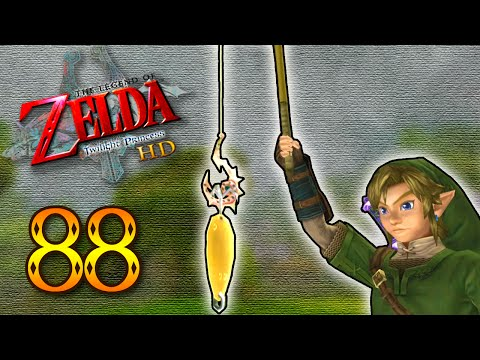 LoZ: Twilight Princess HD || #88 || The Ever Elusive Sinking Lure