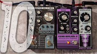 10 Amazing Ambient Sounds | DEATH BY AUDIO Rooms + Echo Dream 2
