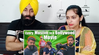 Indian Reaction on Every Muslim In A Bollywood Movie | Bekaar Films ft. PunjabiReel TV