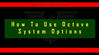 Forex Octave Software Components Tutorial
