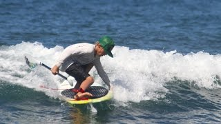 SUP trick tip with 12 Year old Nathan van Vuuren