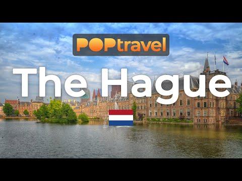 Walking in THE HAGUE / Netherlands 🇳🇱- 4K 60fps (UHD)