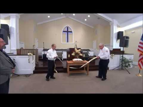 North Beaver Baptist Church Dedication Service