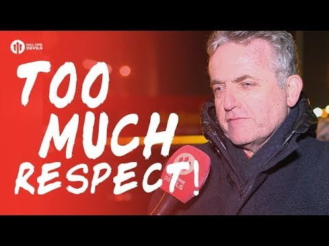 Too Much Respect! Manchester United 1-2 Manchester City FANCAM