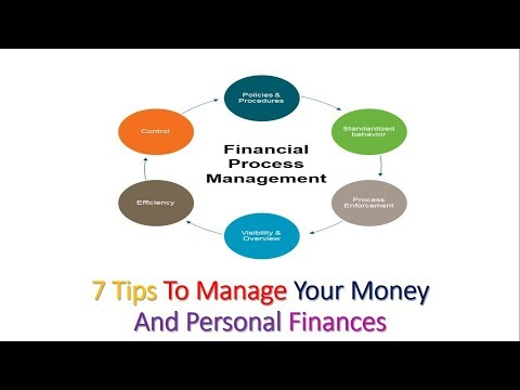 7 Tips To Manage Your Money And Personal Finances || How to solve your personal finances