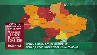 Коронавірус в Украі ні статистика за 3 квітня