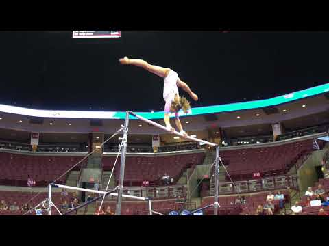 Olivia Greaves - Uneven Bars - 2018 GK U.S. Classic - Junior Competition