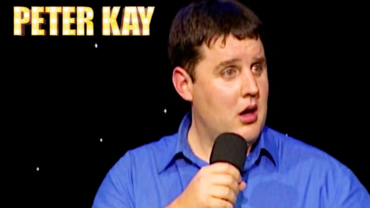 """""""GARLIC BREAD!?""""   Stand Up   Peter Kay #Shorts"""