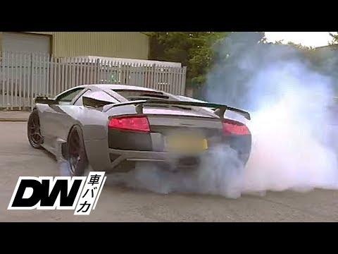 Lamborghini Murcielago Does Donuts  - RWD LP640