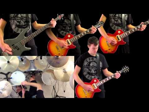 Don't Cry Guns N' Roses Guitar Bass Drum Cover