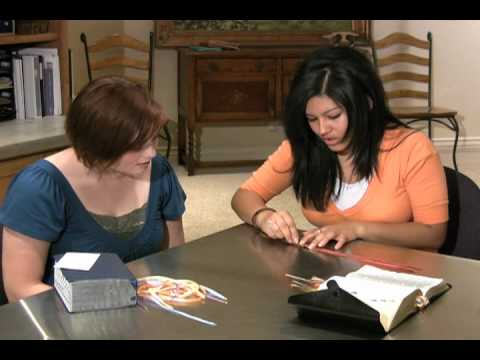 LDS Young Womens Bookmark Ribbon How-to