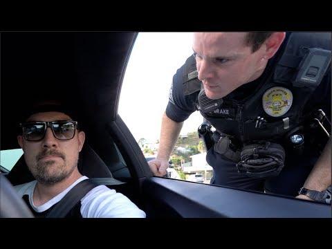 Laguna Police Ticket Lamborghini Passenger WE'RE IN TROUBLE
