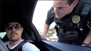 Laguna Police Ticket Lamborghini Passenger WE'RE IN TROUBLE