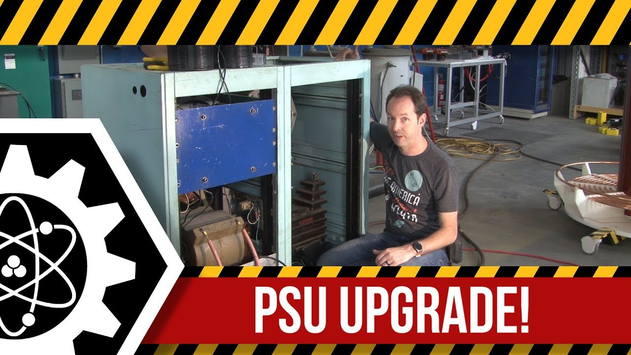 Experimenting With a PSU Made by Bill Wysock: High Voltage Lab
