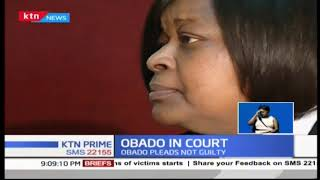 Migori Governor Okoth Obado denies killing pregnant girlfriend Sharon Otieno