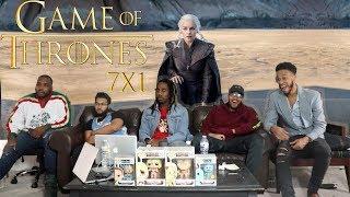 "SEASON 7! Game of Thrones Season 7 Episode 1 ""Dragonstone"" REACTION!"