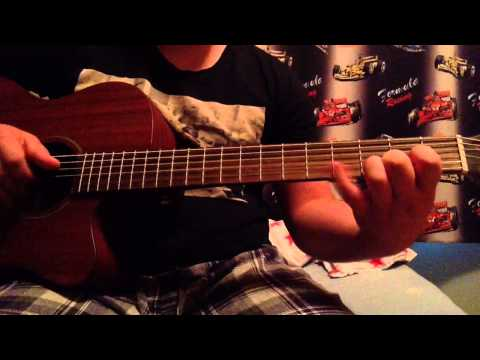 whiskey lullaby brad paisley ft alison krauss fingerstyle (guitar cover)