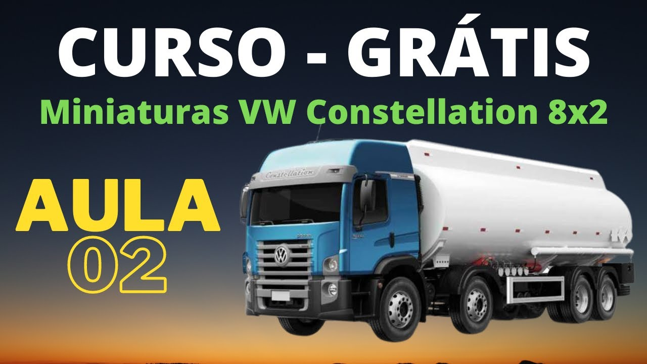 Download Parte 02 l  Miniaturas VW Constellation 8x2 Carroceria Boiadeiro