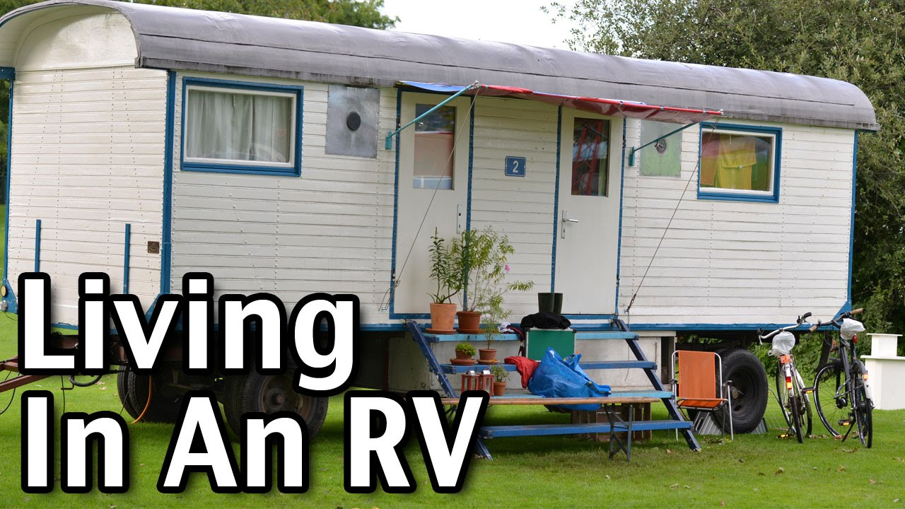 how to live in rv