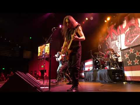 Skid Row Live 12-15-2018 Slave to the Grind Ovations Theater, Chandler Arizona