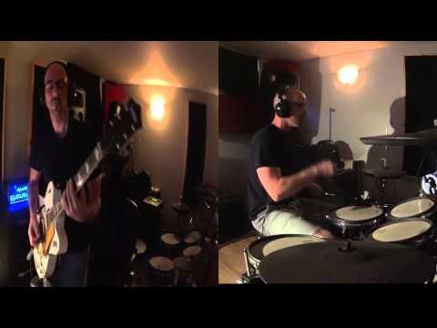 the black keys / goodbye babylon cover / Guitare+Drum
