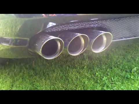 sl 55 amg brabus 6 exhaust sound youtube