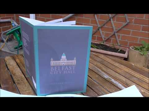 Belfast City Hall Visitor Exhibition Guide Review