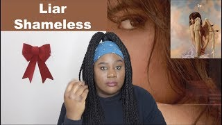 Camila Cabello - Liar AND Shameless |REACTION|