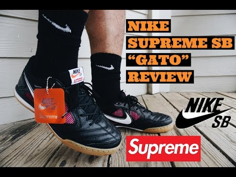 cbe516f3bfd55 SUPREME NIKE SB GATO REVIEW & ON FEET SUPREME WEEK 2 | ARE THEY WORTH  BUYING???