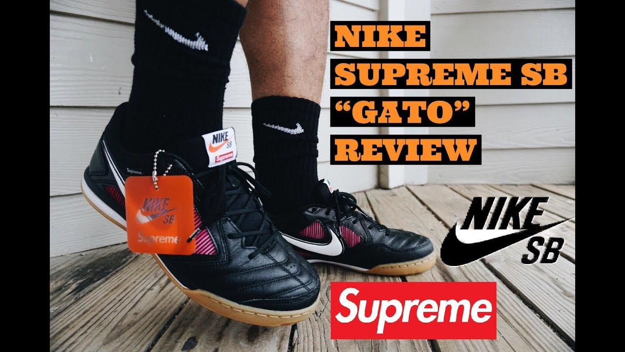 cheap price pretty cheap cheap prices SUPREME NIKE SB GATO REVIEW & ON FEET SUPREME WEEK 2 | ARE THEY WORTH  BUYING???