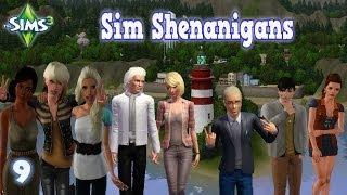 Let's Play The Sims 3 - Sim Shenanigans 4n1LP - She's gonna blow!