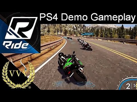 Ride PS4 Demo Gameplay