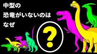 地球上に巨大な恐竜と小さな恐竜しかいなかった理由