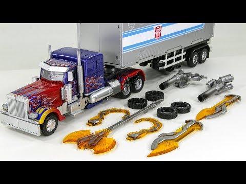 Transformers Black Mamba LS-03 KO Oversized MPM-04 Optimus Prime Vehicle Car Robot Toys